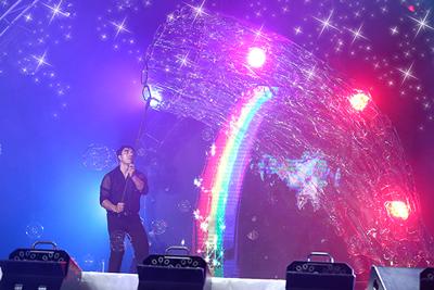 Розыгрыш билетов на шоу 'Волшебных пузырей'