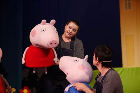 Розыгрыш билетов на представление 'Свинка Пеппа. Дедморозное настроение'