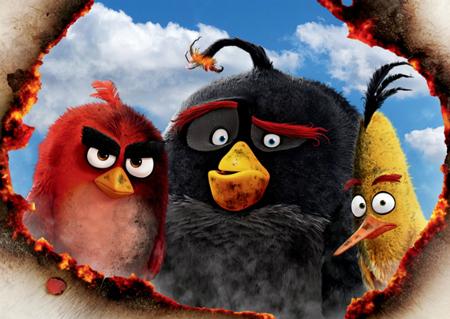 Angry Birds: спасти Новый год