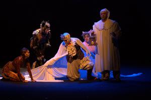 Розыгрыш пригласительных билетов в Театр сакзки Аквамарин