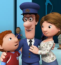 Розыгрыш пригласительных на премьеру мультфильма 'Почтальон Пэт 3D'