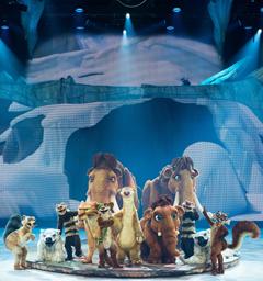 Розыгрыш билетов на шоу «Ледниковый период LIVE!»