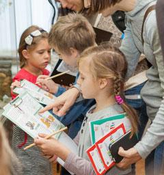 Розыгрыш билетов на проект 'Всей семьей в музей'