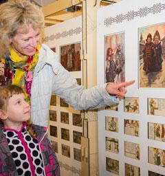Розыгрыш билетов в «Детский музей истории русской открытки»