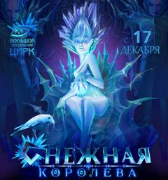 Розыгрыш билетов на новогоднее шоу «Снежная королева»
