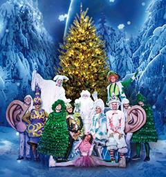 Розыгрыш билетов на спектакль Новогодний кураж или сундук Деда Мороза!